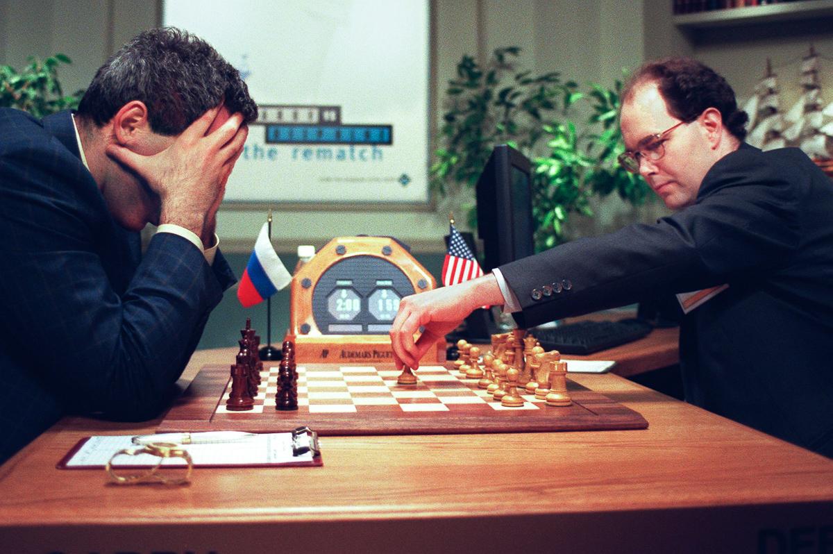 Shahmatnye matchi Kasparov Deep Blue 22