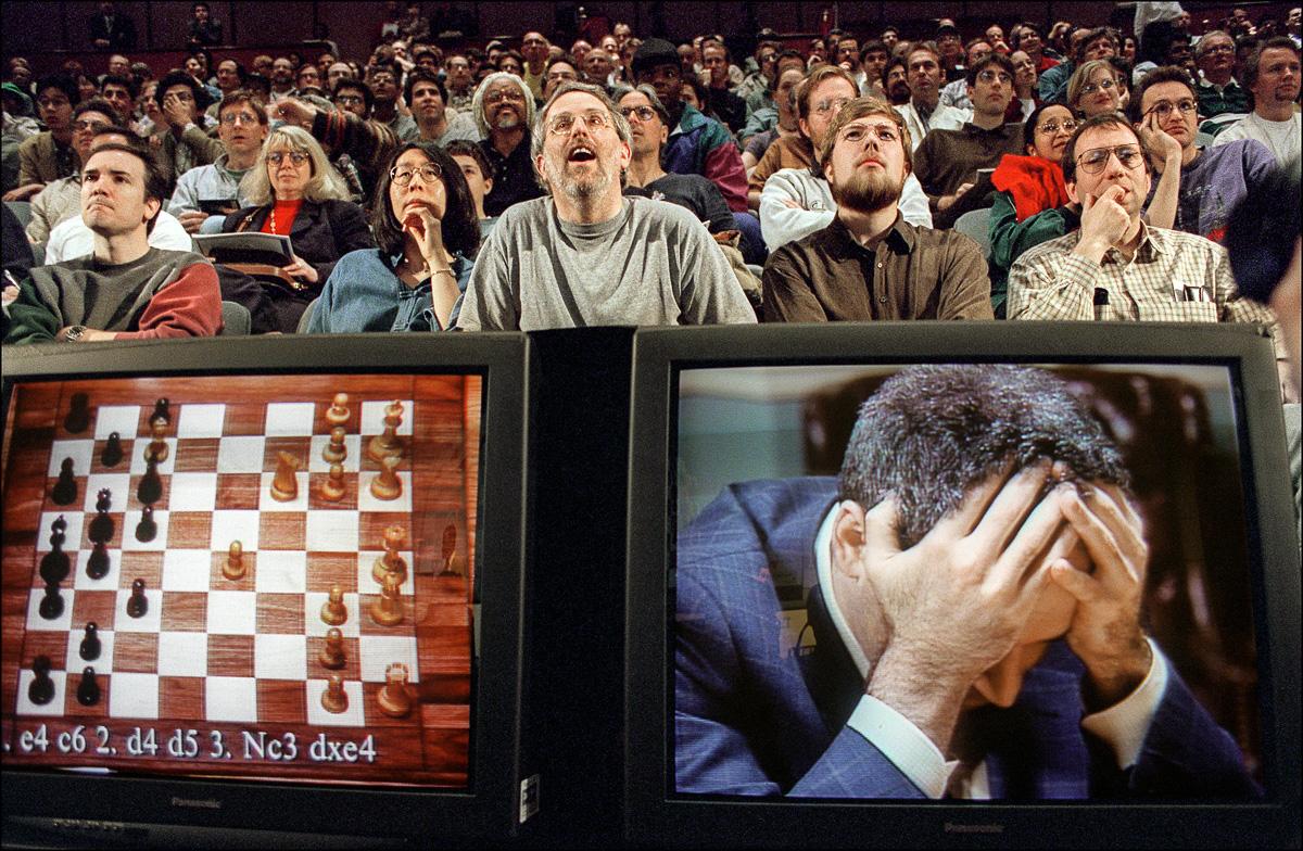 Shahmatnye matchi Kasparov Deep Blue 25