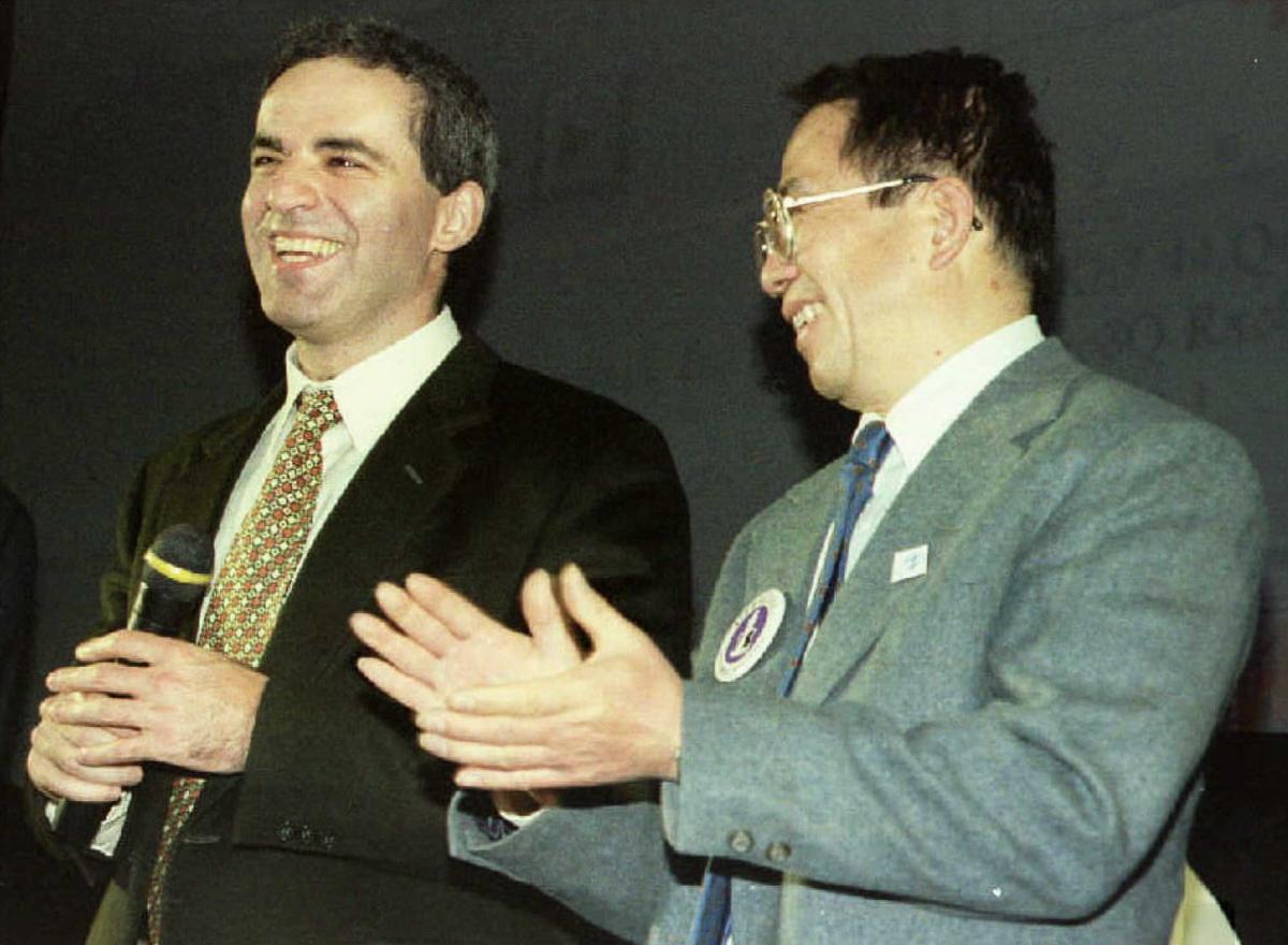 Shahmatnye matchi Kasparov Deep Blue 5