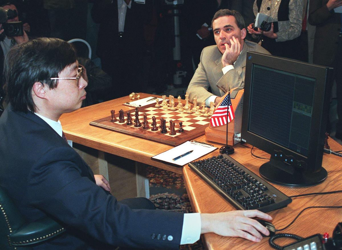 Shahmatnye matchi Kasparov Deep Blue 8