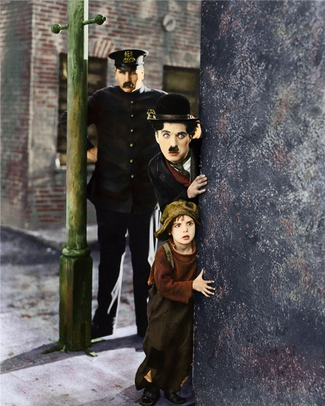 the kid chaplin Charles chaplin, chaplin, the little tramp, the images on this web site, and the names of mr chaplin's films are all trademarks and/or service marks of roy export and/or bubbles inc sa  images scanned by cineteca di bologna as part of progetto chaplin.