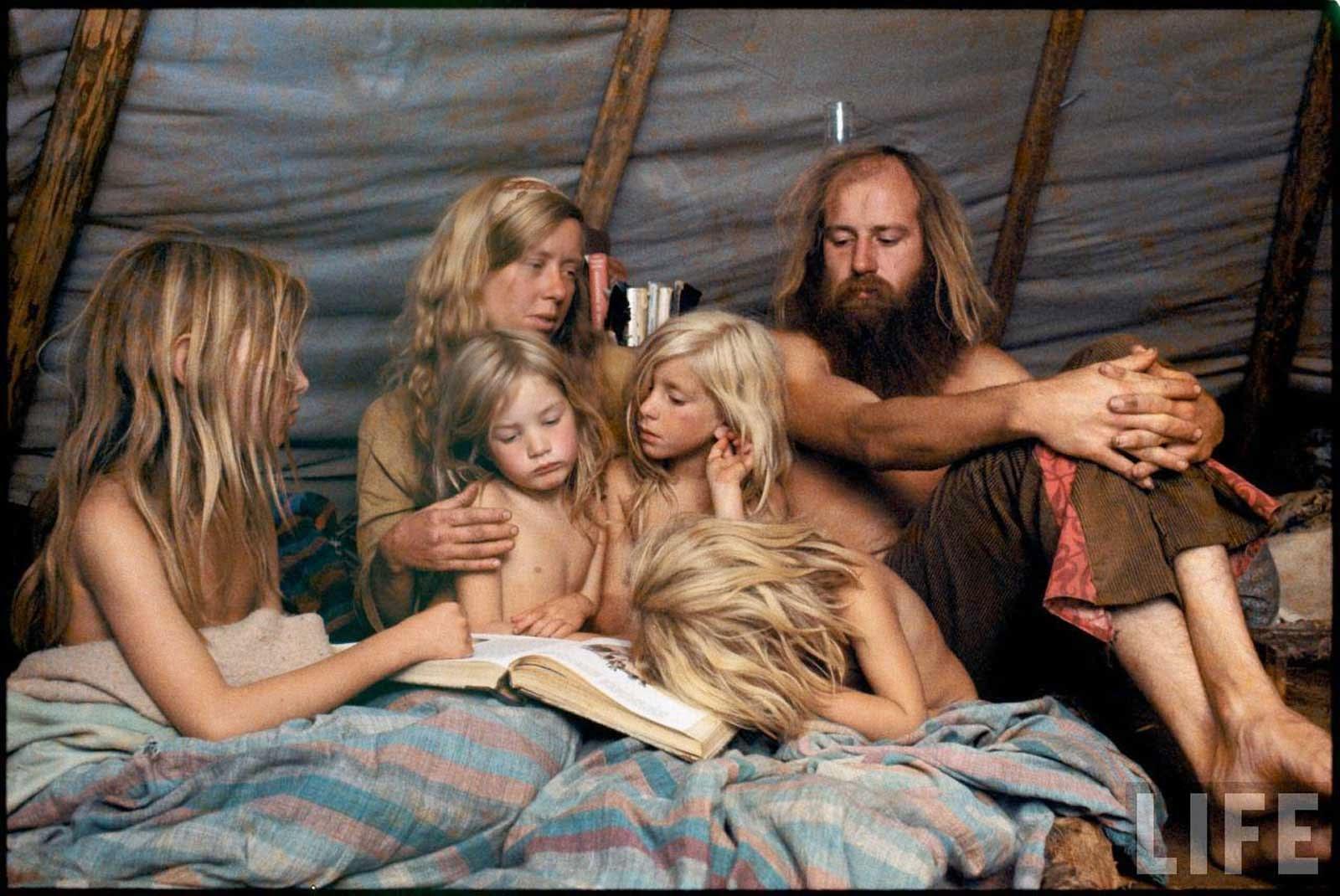 fotografii obschiny amerikanskih hippi 1