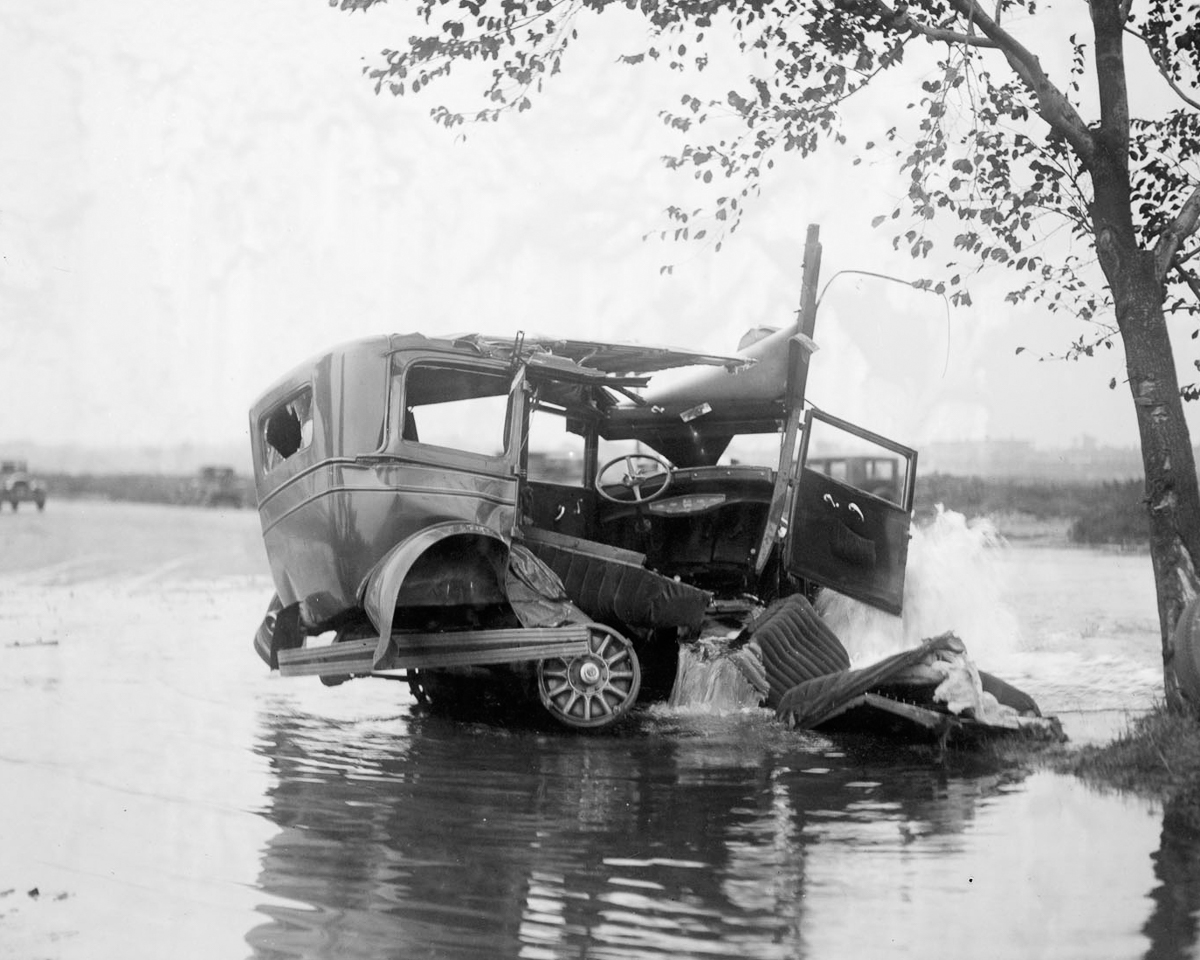 Fotograf Lesli Dzhons avtomobilnye avarii 19