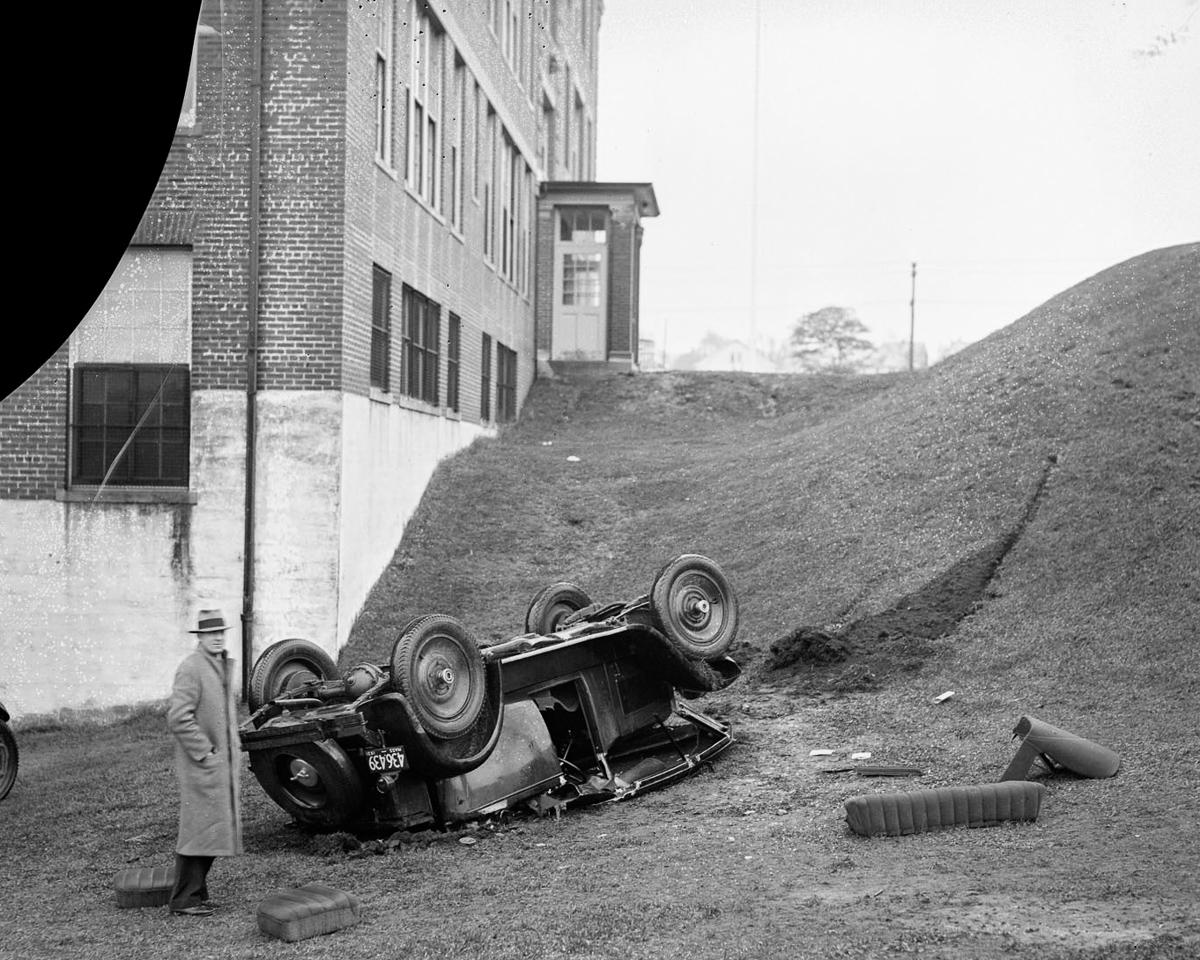 Fotograf Lesli Dzhons avtomobilnye avarii 20