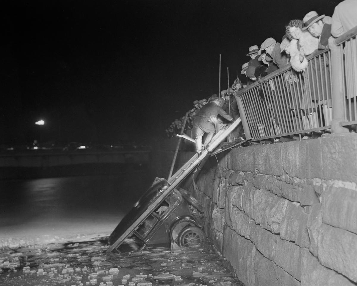 Fotograf Lesli Dzhons avtomobilnye avarii 29