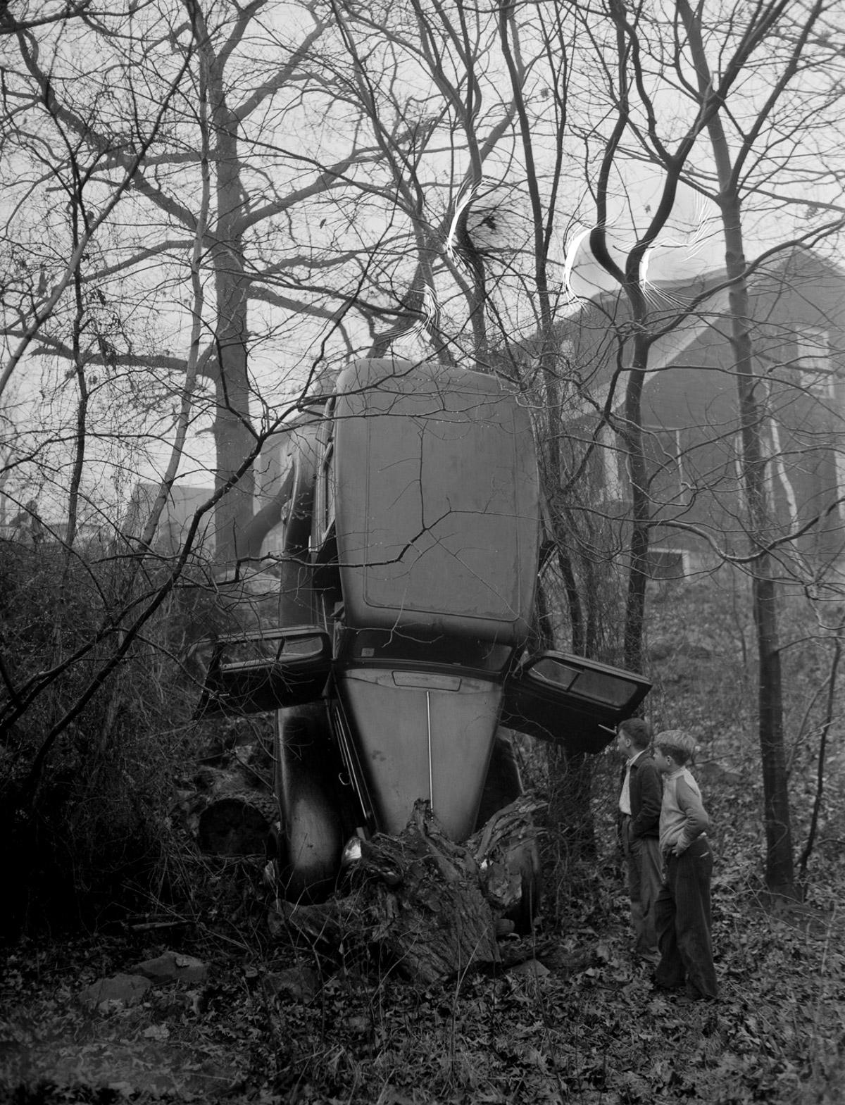 Fotograf Lesli Dzhons avtomobilnye avarii 3