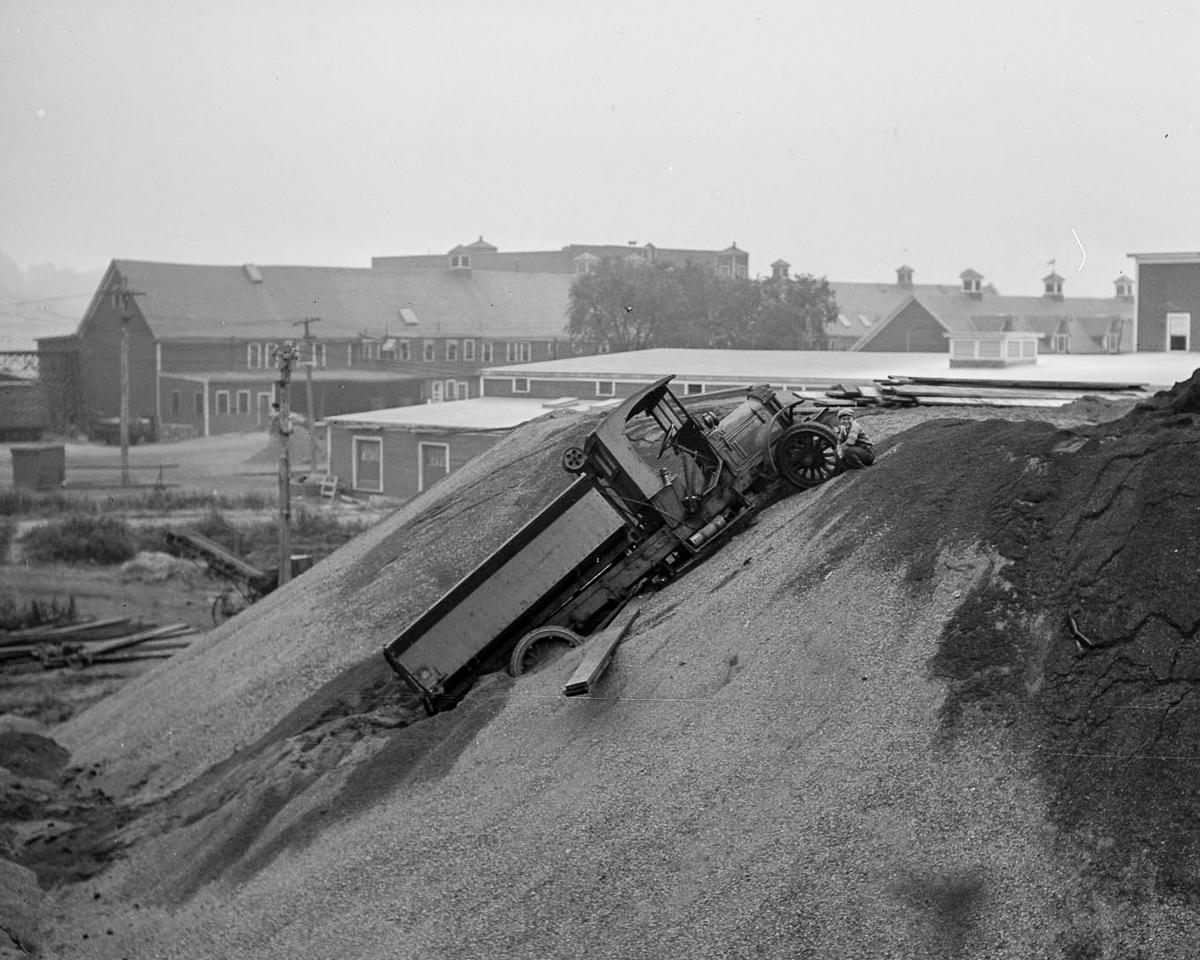 Fotograf Lesli Dzhons avtomobilnye avarii 30