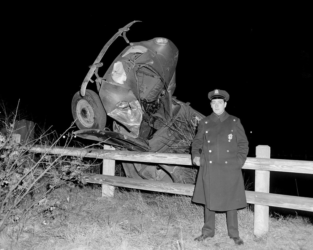 Fotograf Lesli Dzhons avtomobilnye avarii 38