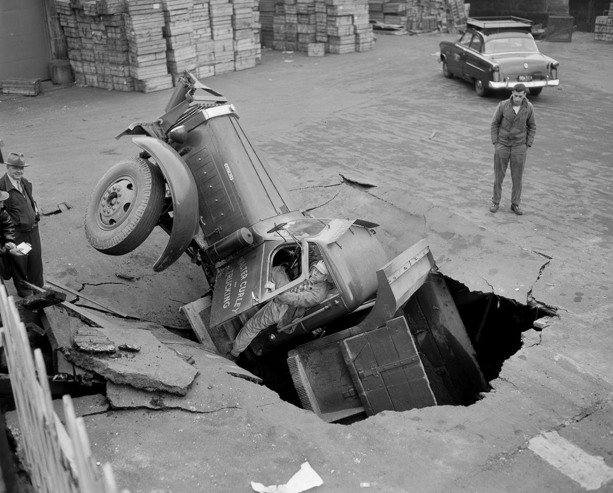 Fotograf Lesli Dzhons avtomobilnye avarii 42