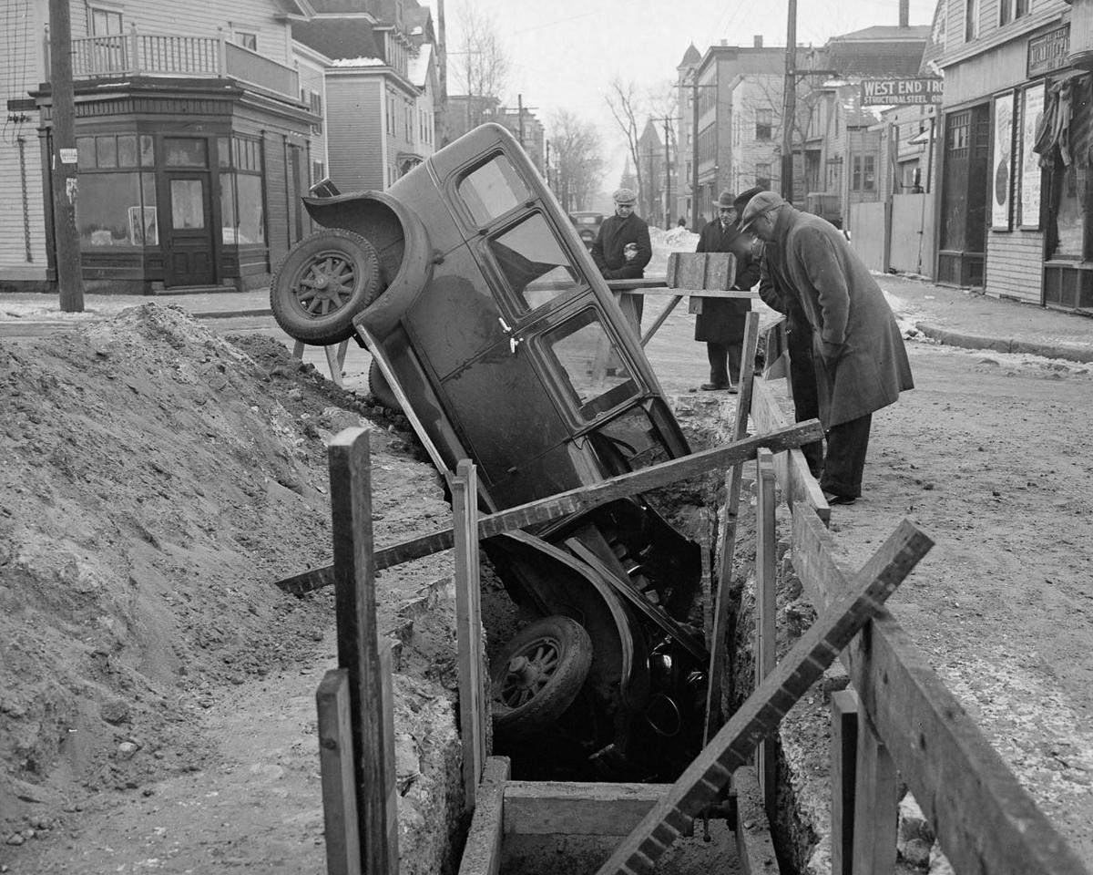 Fotograf Lesli Dzhons avtomobilnye avarii 9