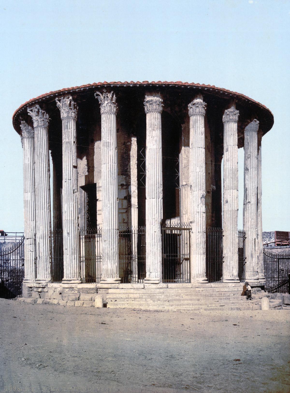 dostoprimechatelnosti Rima starye otkrytki 14