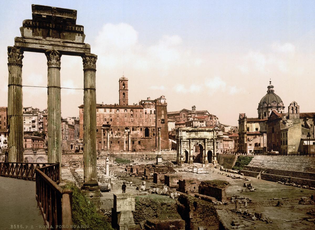 dostoprimechatelnosti Rima starye otkrytki 17