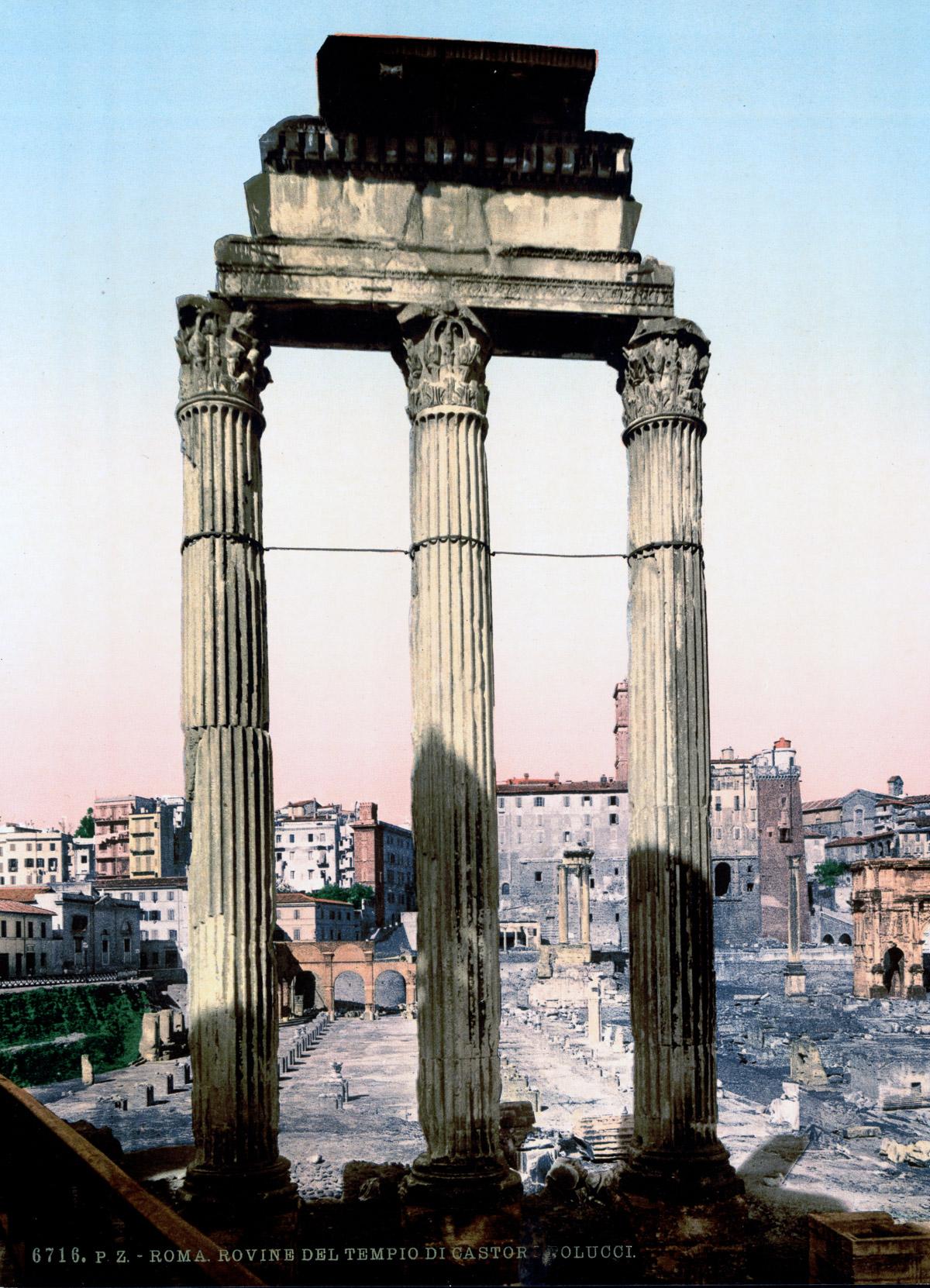dostoprimechatelnosti Rima starye otkrytki 20