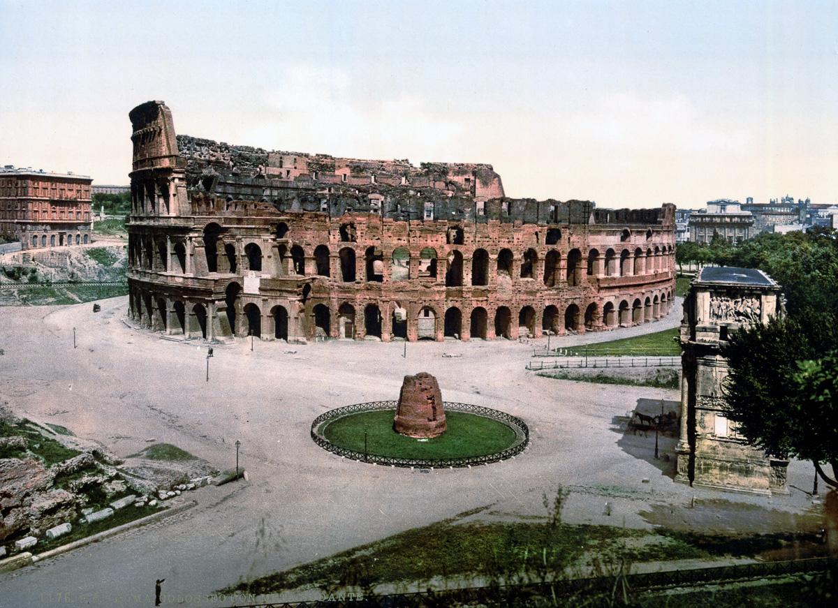 dostoprimechatelnosti Rima starye otkrytki 23