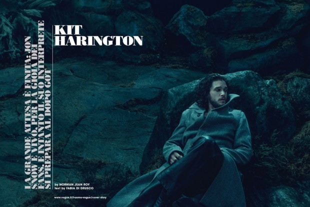 Kit Harington v LUomo Vogue 2