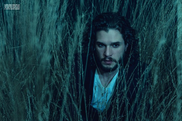 Kit Harington v LUomo Vogue 3