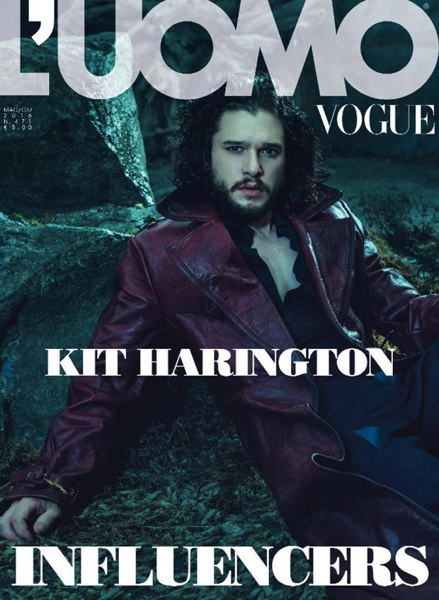 Kit Harington v LUomo Vogue 7