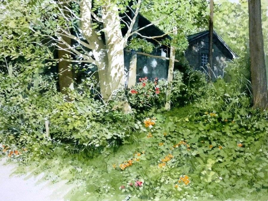 hudozhniki akvarelnye kartiny 16