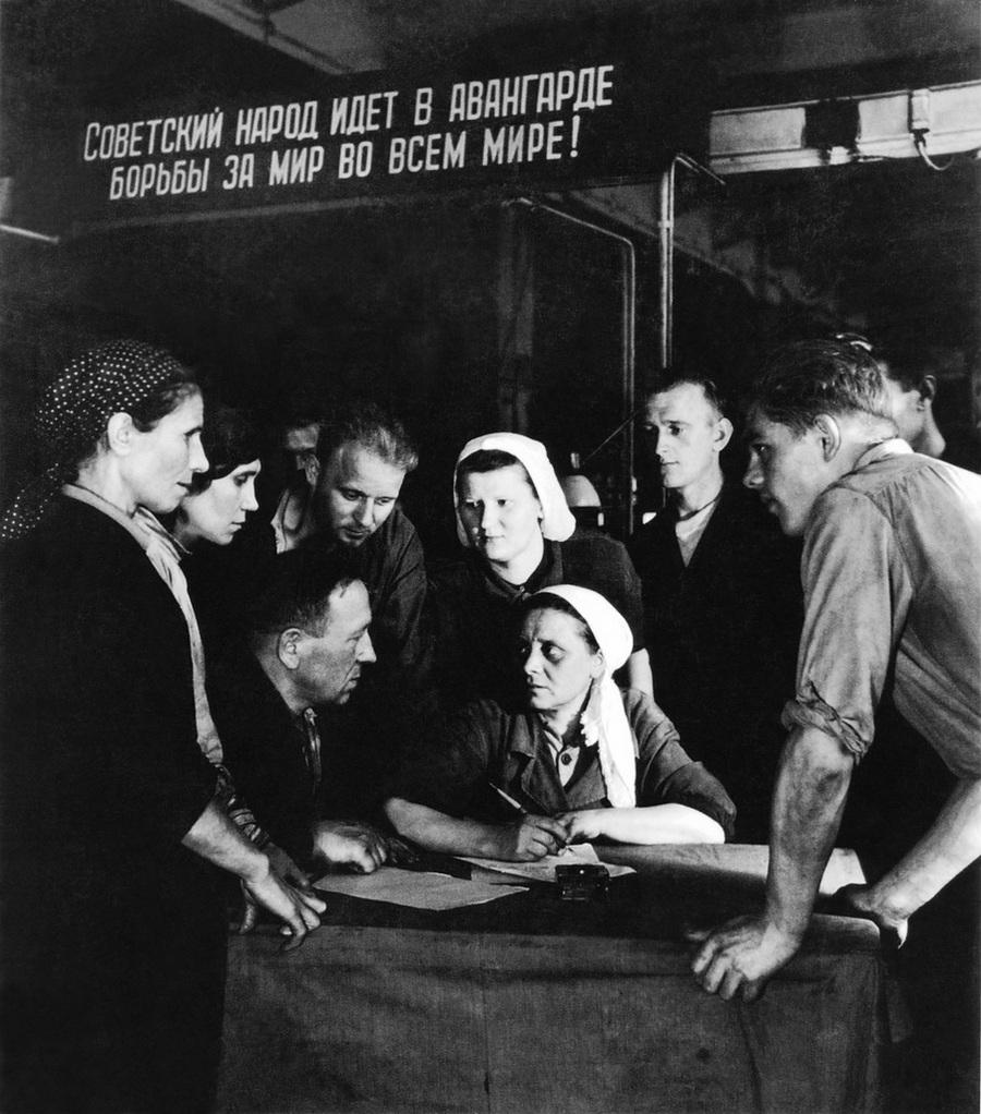 Советская история в фотографиях легендарного Дмитрия Бальтерманца 37