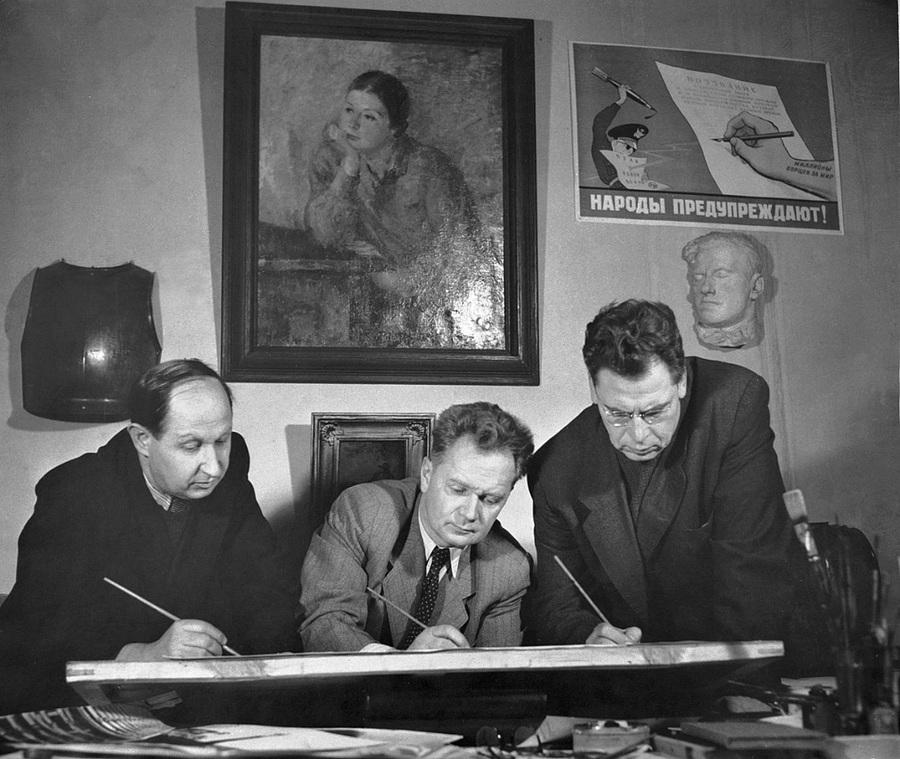 Советская история в фотографиях легендарного Дмитрия Бальтерманца 45