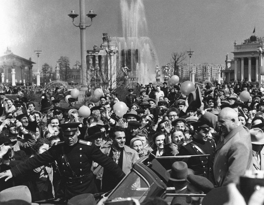 Советская история в фотографиях легендарного Дмитрия Бальтерманца 47