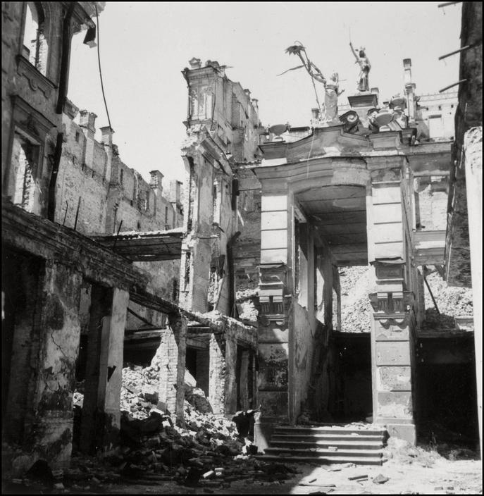 Оккупированный Киев глазами знаменитого немецкого фотографа Герберта Листа 2