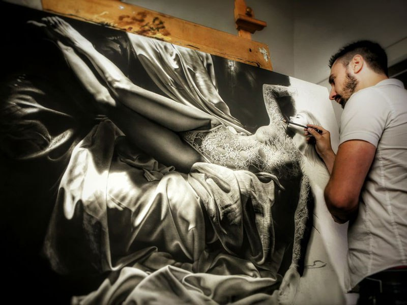 Иллюзия реальности от художника-гиперреалиста Эммануэля Дасканио 24