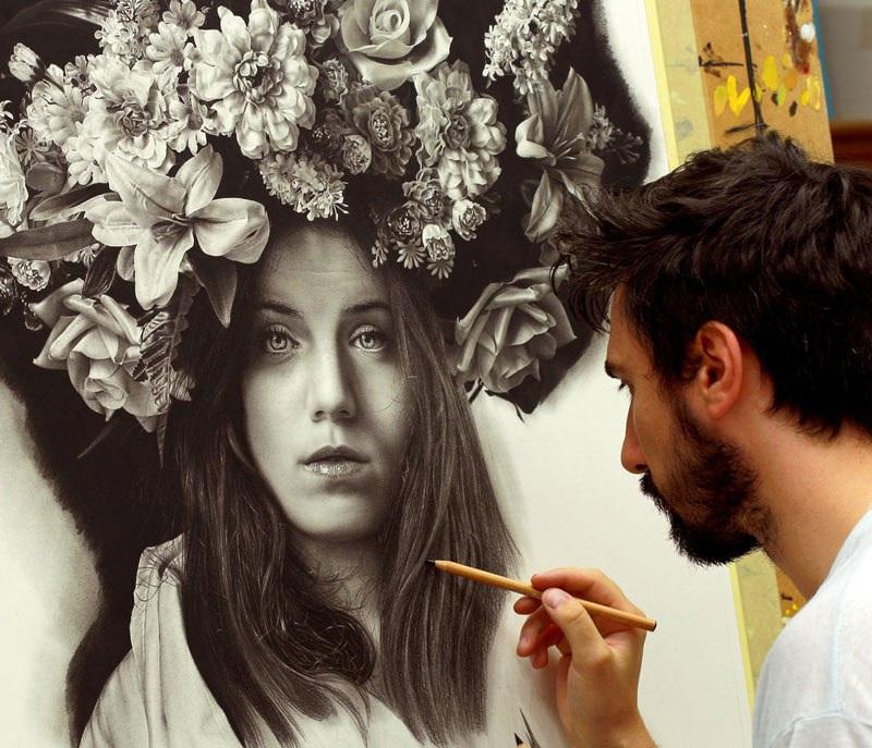 Иллюзия реальности от художника-гиперреалиста Эммануэля Дасканио 42