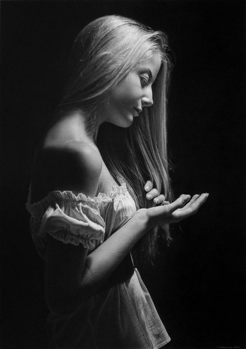 Иллюзия реальности от художника-гиперреалиста Эммануэля Дасканио 43
