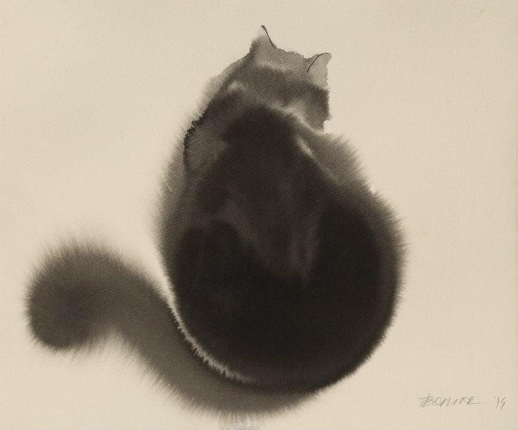 Мастер акварельной живописи Эндре Пеновач 14