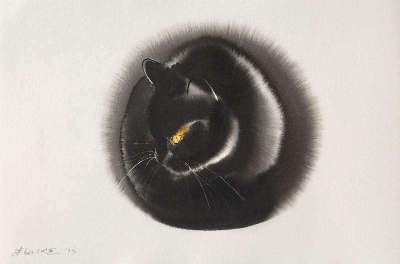 Мастер акварельной живописи Эндре Пеновач 16