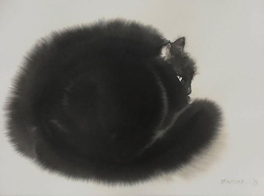 Мастер акварельной живописи Эндре Пеновач 17