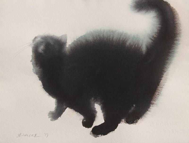 Мастер акварельной живописи Эндре Пеновач 18