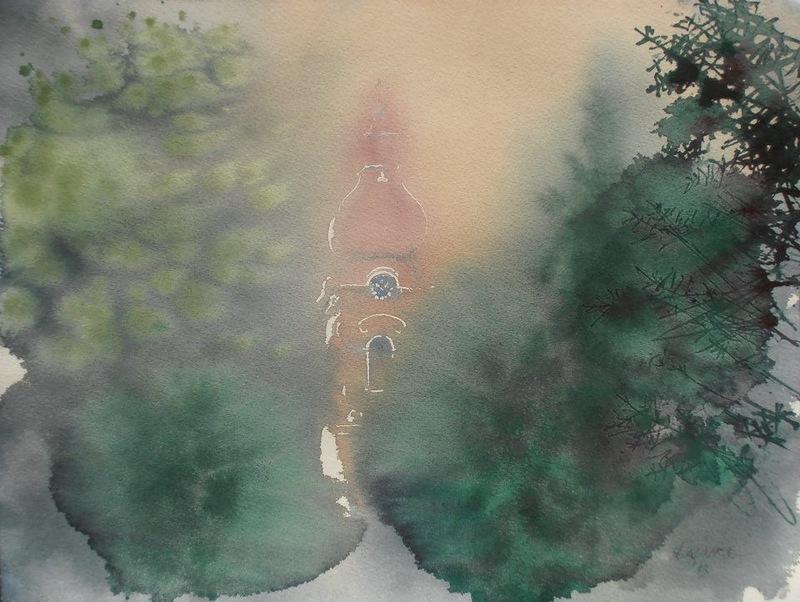 Мастер акварельной живописи Эндре Пеновач 78