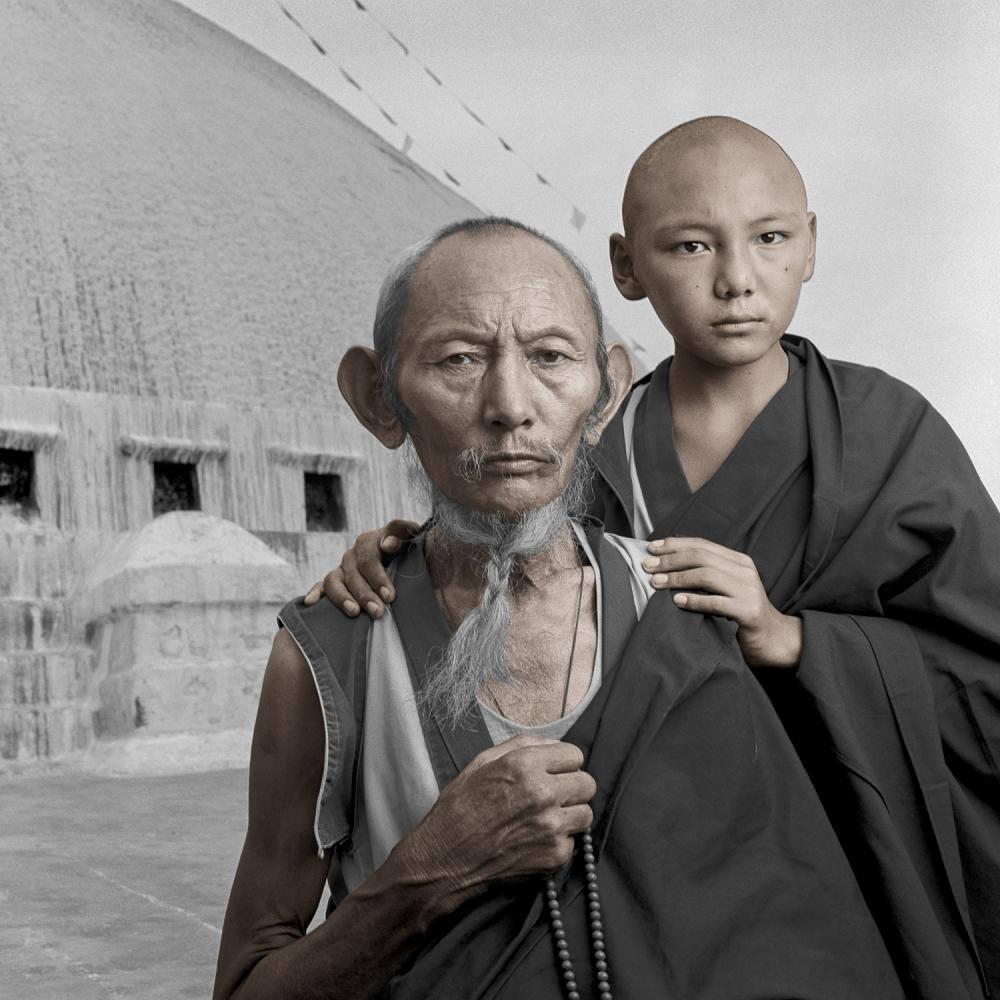 Фотограф Фил Боргес – тибетский портрет 2