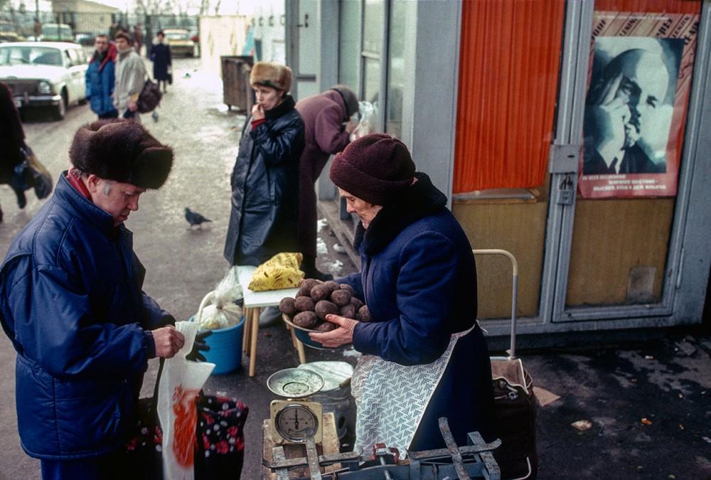 Фотограф Крис Ниденталь. Советская Москва 1