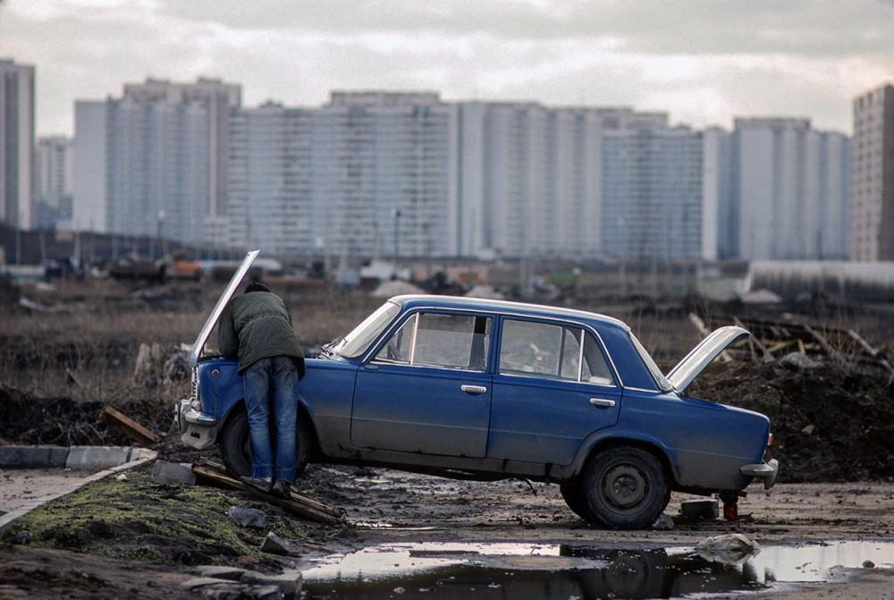Фотограф Крис Ниденталь. Советская Москва 21