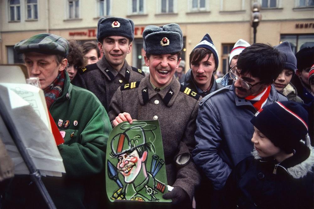 Фотограф Крис Ниденталь. Советская Москва 28