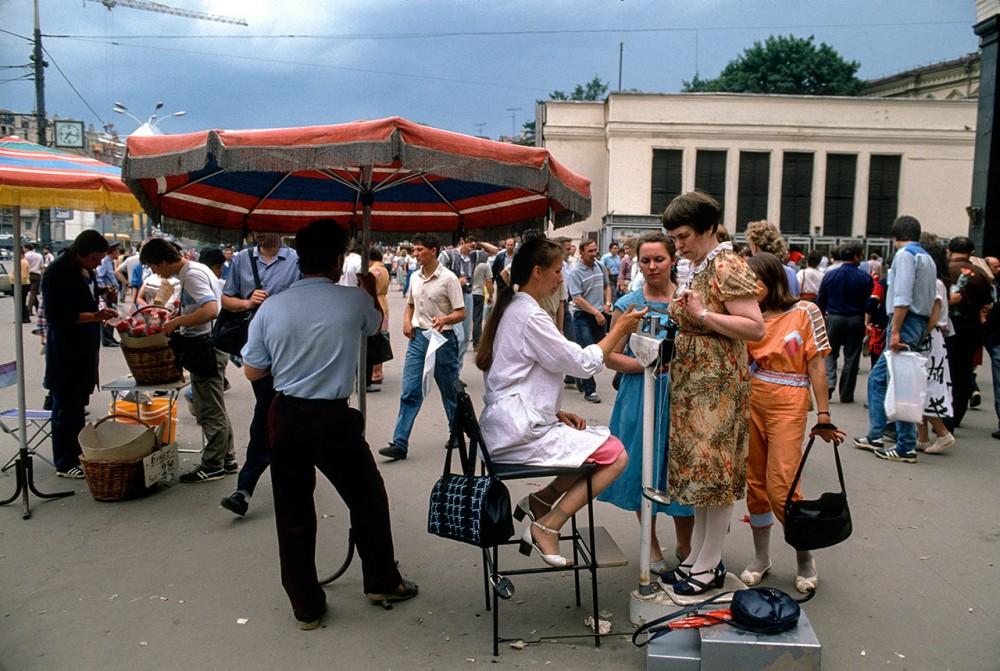 Фотограф Крис Ниденталь. Советская Москва 32