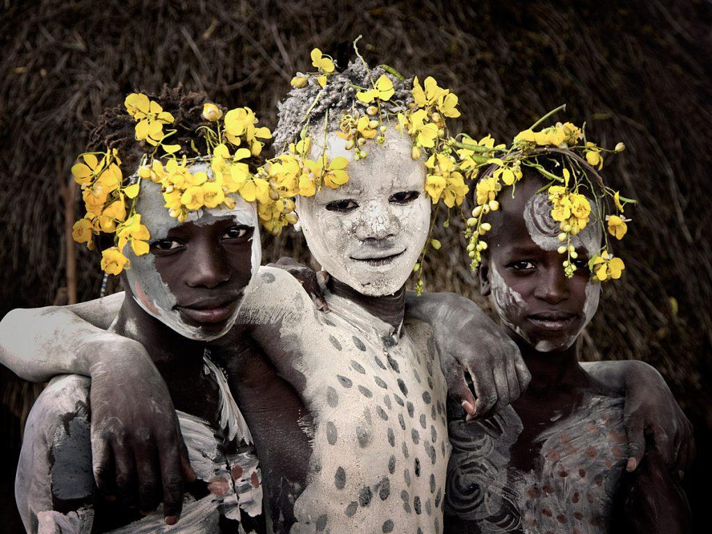 plemena fotograf Dzhimmi Nelson 12