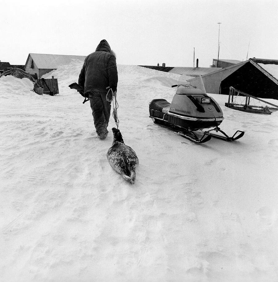 Жизнь в эскимосских деревнях Аляски. Фотограф Алекс Харрис  20