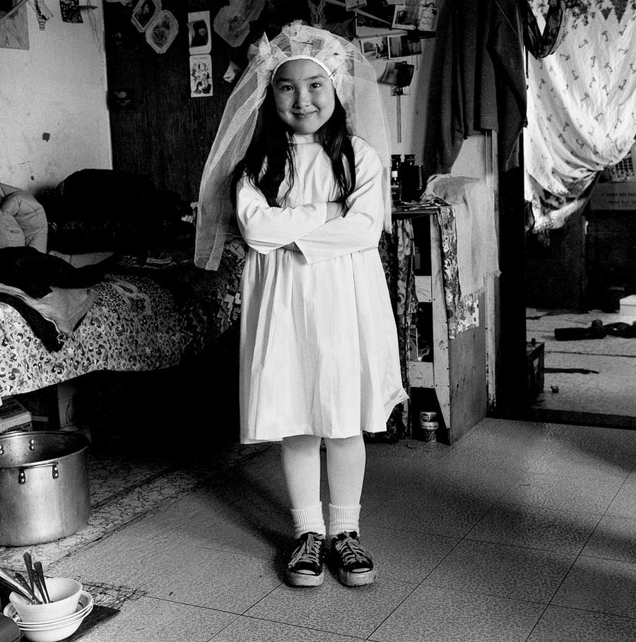 Жизнь в эскимосских деревнях Аляски. Фотограф Алекс Харрис  4
