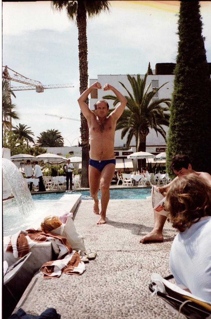 Фотографии знаменитостей из личного фотоальбома Майкла Уайта 39