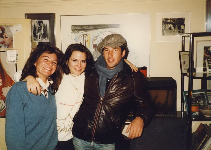 Фотографии знаменитостей из личного фотоальбома Майкла Уайта 43