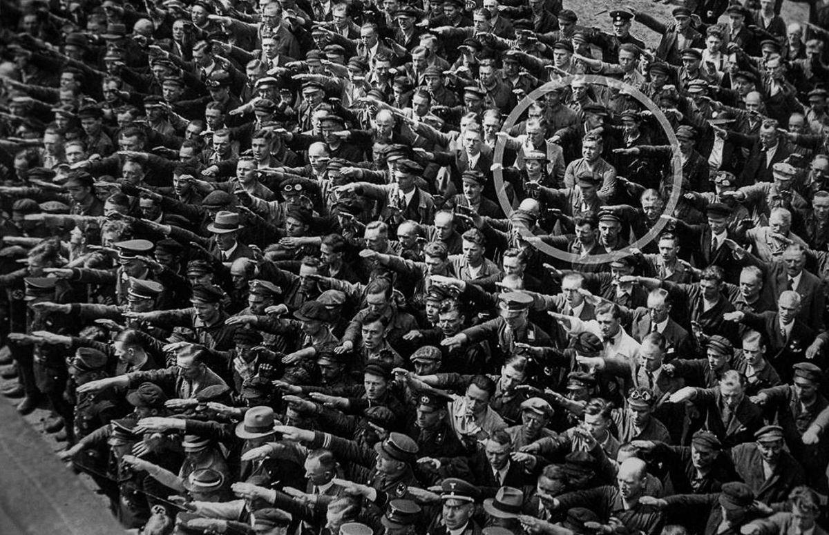 Avgust Landmesser istoriya foto 1