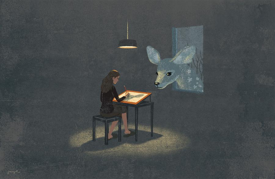 Иллюстрации Джунго Ли 2