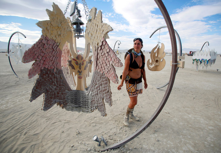 Фестиваль Burning Man 1