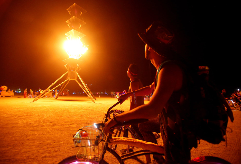 Фестиваль Burning Man 14