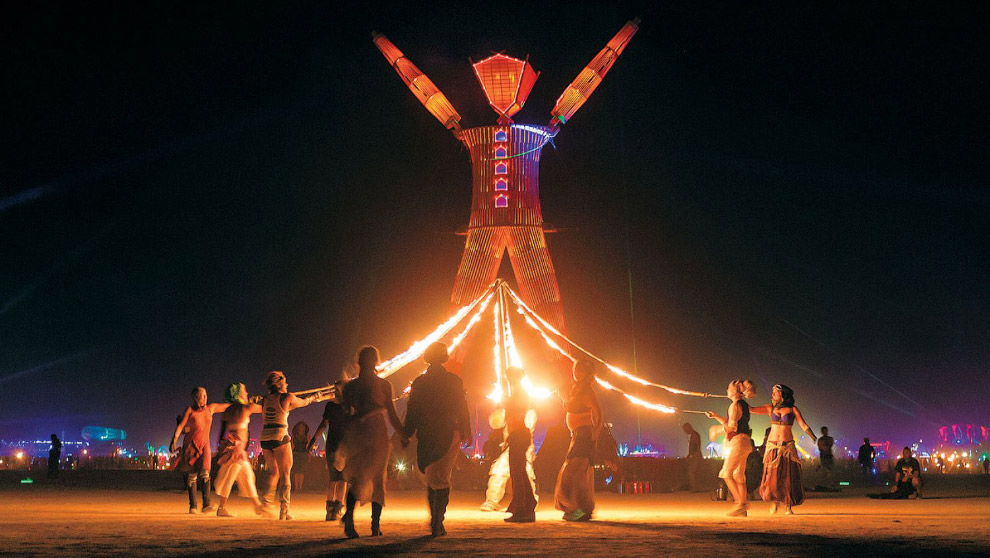 Фестиваль Burning Man 15