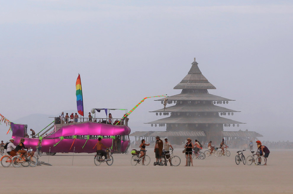 Фестиваль Burning Man 2